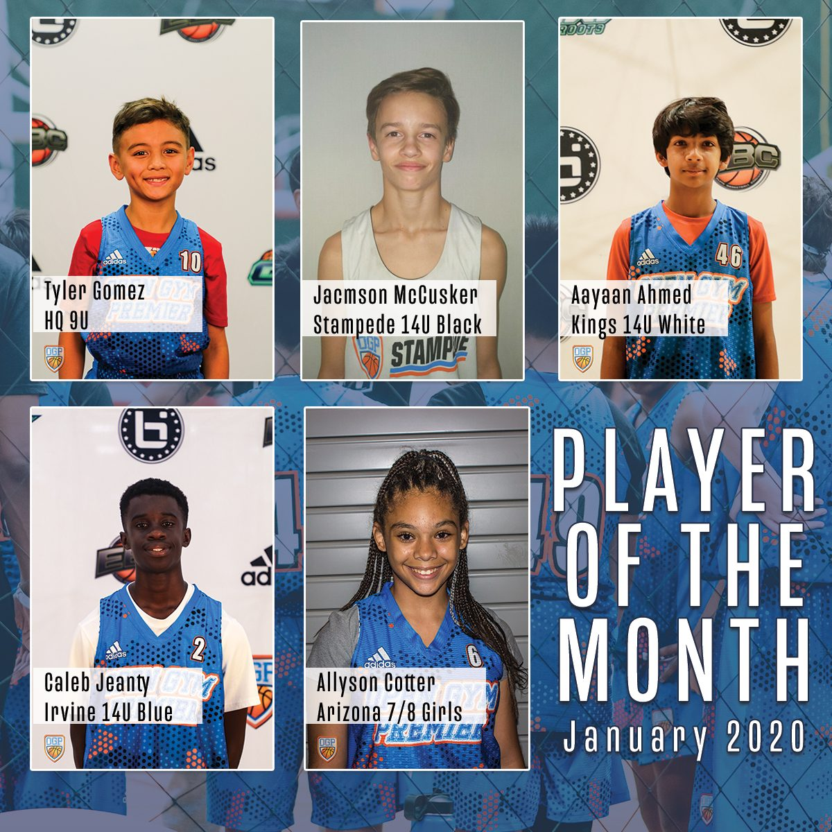 Player of the Month