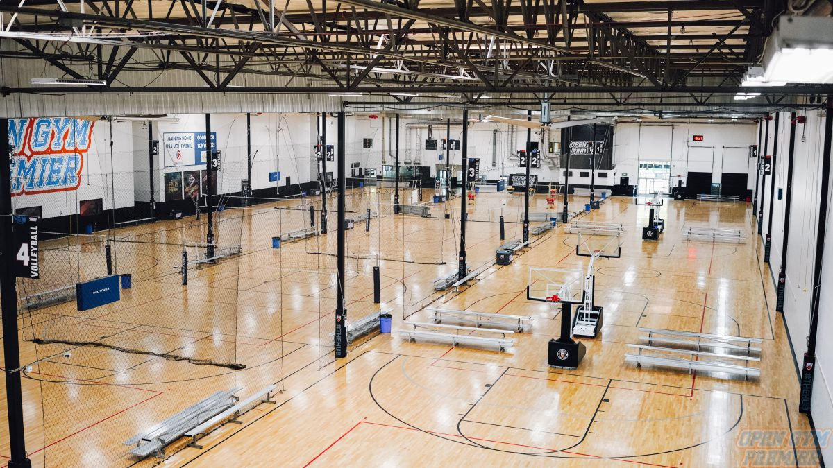 Open Gym Premier Facility/ Basketball Courts